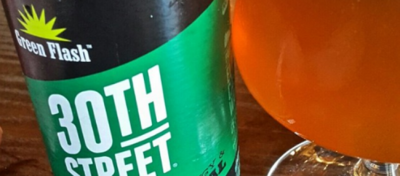Green Flash 30th Street Pale Ale – 3,8