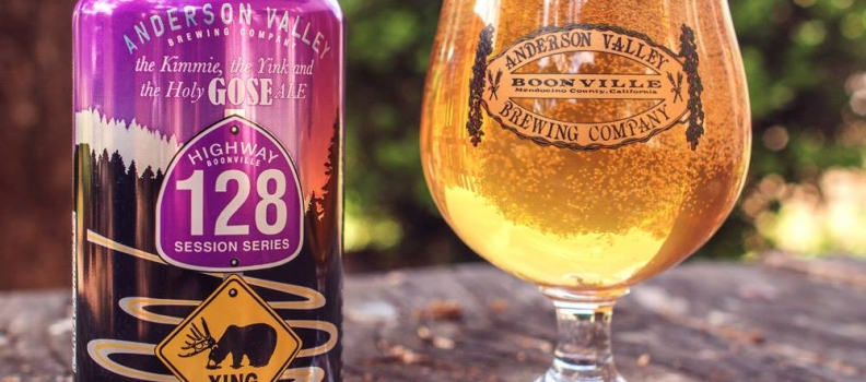 Anderson Valley The Kimmie, The Yink & The Holy Gose – 4,0