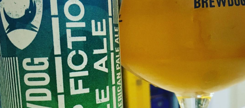 BrewDog Hop Fiction Pale Ale – 3,9