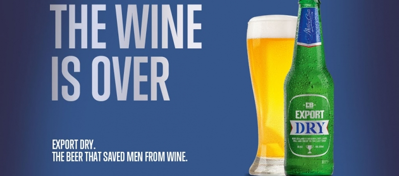 The beer that save men from wine!