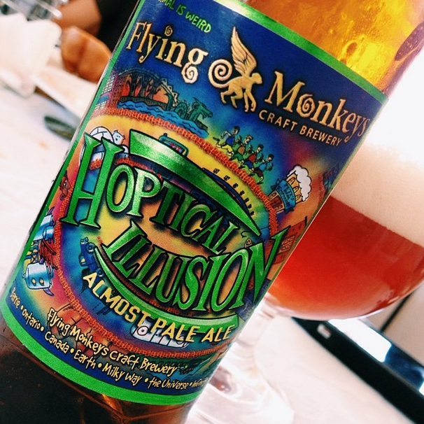 Flying Monkeys Hoptical Illusion Almost Pale Ale – 3,8