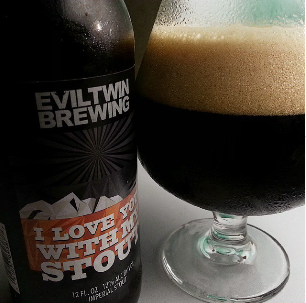 Evil Twin I Love You With My Stout – 4,2