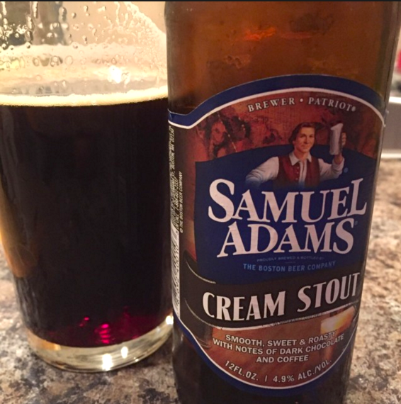 Samuel Adams Cream Stout – 3,7